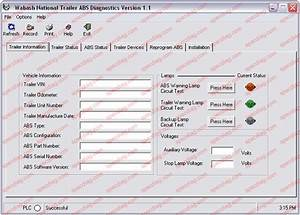 Heavy Duty Abs Tractor  Trailer Diagnostic Software Kit