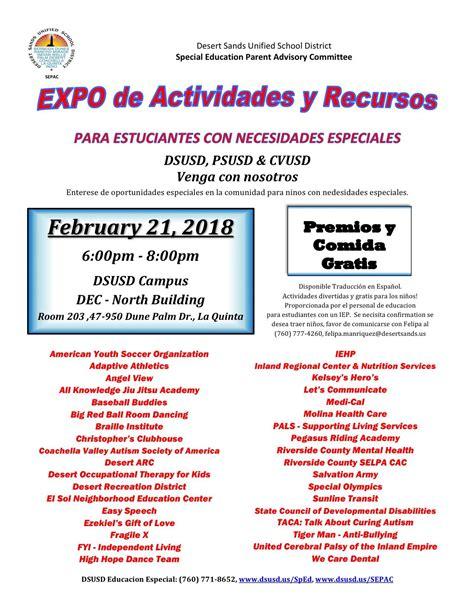 activities resources expo inland regional center