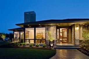 stunning modern prairie home plans photos der moderne bungalow f 252 r angenehmen wohnkomfort