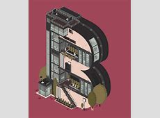 Whimsical, Animated GIFs Of Apartment Buildings Shaped
