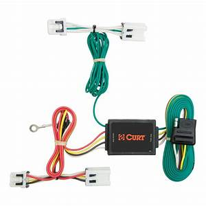 Curt Custom Wiring Harness  4-way Flat Output -56124