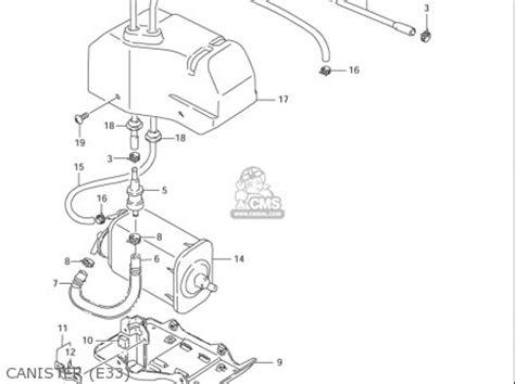 Suzuki Ls650 Parts by Suzuki Ls650 S40 2005 2006 Usa Parts List Partsmanual