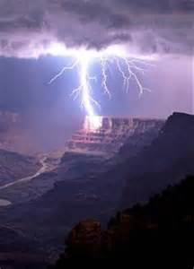 Lightning Grand Canyon National Park