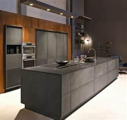 cuisine chic cuisine gris anthracite 56 idées pour une cuisine chic