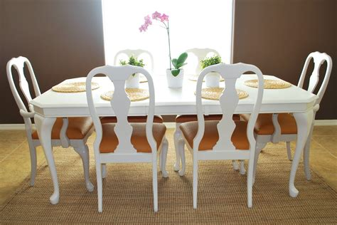 Room Table And Chairs by Remodelaholic Refinished Dining Room Table And Chair Re