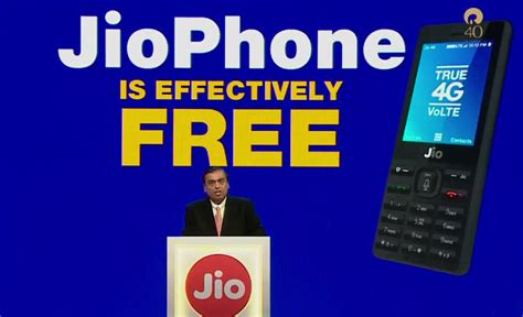 jiophone made in india volte feature phone launched effectively free with refundable security
