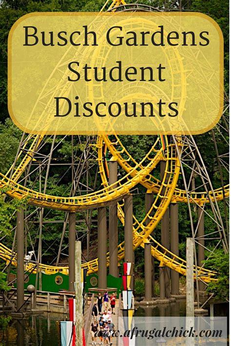 Bush Garden Ticket Price by Busch Gardens Student Discount