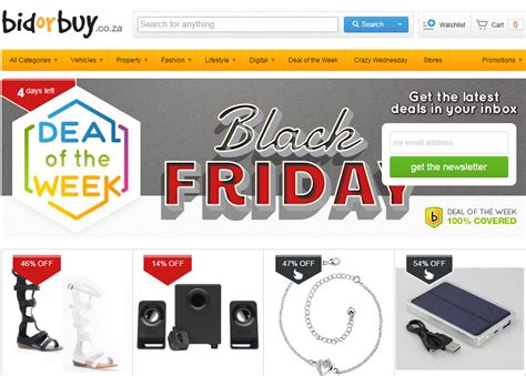 Bid Or Buy Shopping Black Friday Where To Shop In The Lowveld Lowvelder