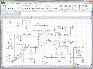 Create Circuit Diagram For Excel
