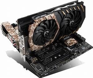 MSI GeForce GTX 1060 Camo Squad 6GB GDDR5 - Limited ...