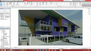 Autodesk Revit Architecture - How To Make A Render - YouTube