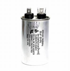 1pc Ac Start Sh Capacitor 20uf 450vac  U00b15  50  60hz Ul Tuv
