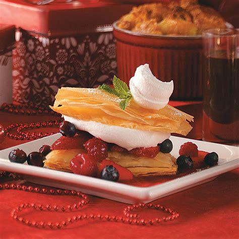 Berry Napoleons Recipe: How to Make It   Taste of Home