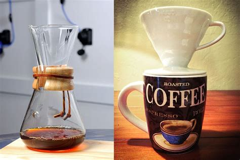 The pour over coffee ratio, while not complicated. Pour Over (V60) Vs. Chemex : What is the Difference ...