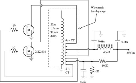study of the feasibility of using commonly available power mosfetsfor high power hf