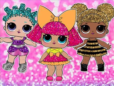 Lol Dolls Edible Cake & Cupcake Toppers