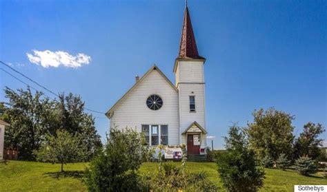 et cuisine poele une ancienne église est à vendre à potton québec et
