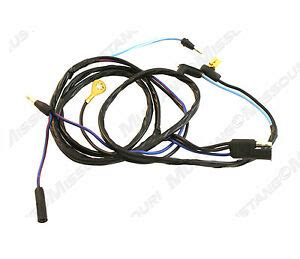 68 Mustang Wire Harnes by 1969 1970 Ford Mustang Dash To Console Wiring Harness Ebay