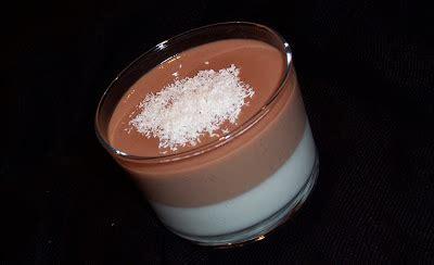 dans ma toute cuisine panna cotta noix de coco chocolat au lait