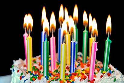 Candles Birthday Happy Colorful Candle Bright Quotes