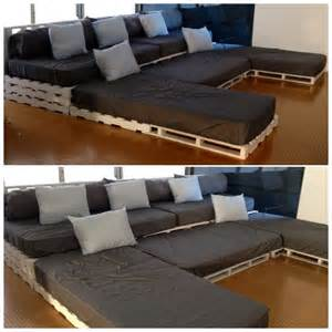 sofa cinema u shaped pallet sofa ideas pallet wood projects