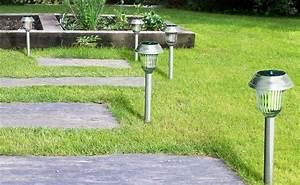 amazon aglaia solar garden outdoor pathway lights 6pk 14 With amazon prime outdoor lighting