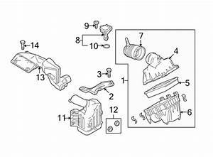 Mazda 6 Bolt  Air  Inlet  Duct  2 5 Liter  3 7 Liter