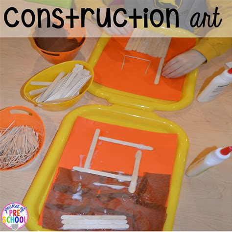 construction themed centers amp activities for 719 | Slide21