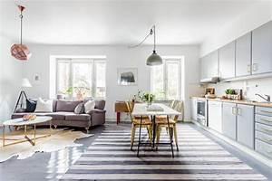 1001 conseils et exemples de deco interieur d for Meuble de salle a manger avec tapis salon style scandinave