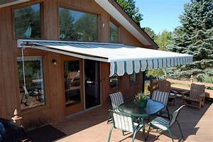 Retractable awnings deck patio awnings for your home for Outdoor awnings for patios