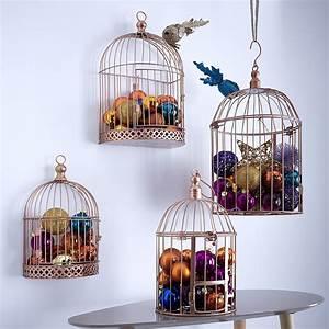 Cage Oiseau Deco : decoration noel oiseaux ~ Teatrodelosmanantiales.com Idées de Décoration