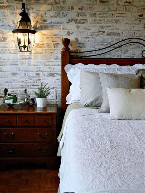 master bedroom makeover brick wall bedroom bedroom wall