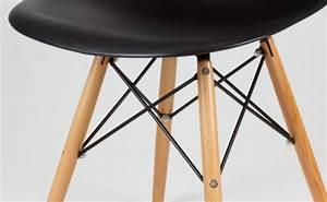 Chaises Scandinaves Noires : chaise noire eames design house and garden ~ Teatrodelosmanantiales.com Idées de Décoration