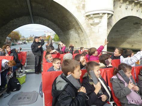 Bateau Mouche Groupe Scolaire by Sortie 224 Paris Le Blog De L Ecole Elementaire Gaston