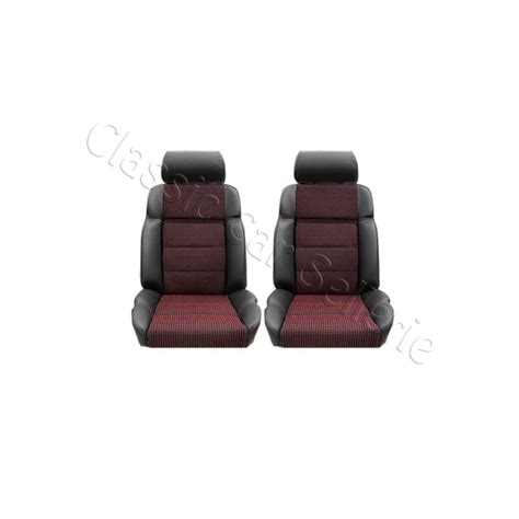 refection siege 205 gti ensemble 2 garnitures de sièges avant 205 gti cti cuir anthracite tissu quartet car