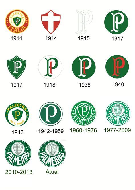 Variação histórica de Escudos do Palmeiras.   Verdão ...