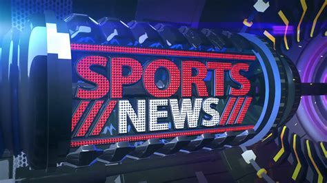 News Sports by Fantastic Sports News Broadcast Bumper Opener 3d Motion