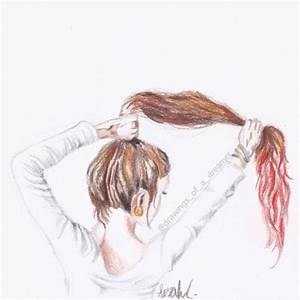 hair drawing on Tumblr