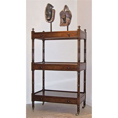 Etagere With Drawers by 6158 Square 3 Tier Etagere With Drawers Paul Ferrante