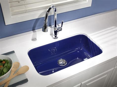 colored kitchen sinks 15 easy ways to add color to your kitchen kitchen ideas
