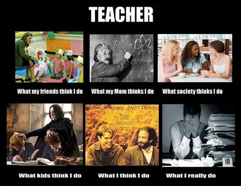 Teacher Memes - what is teaching to the real