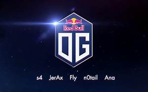OG Officially Partner With Red Bull Unveils New Team Logo