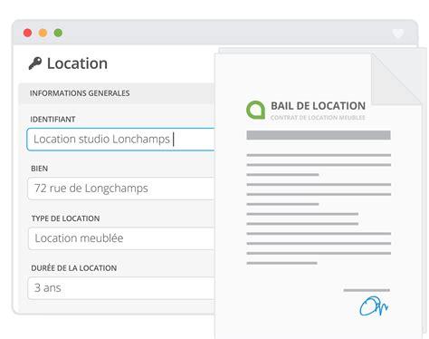 modèle bail location meublée modele de contrat de location meublee gratuit 12 bail