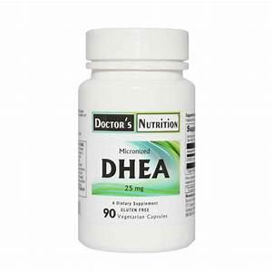 Dhea 25 Mg  90 Vegetable Capsules   U2014 Doctor U0026 39 S Nutrition