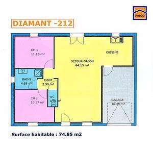 impressionnant plan petite maison 70 m2 4 maison 70m2 With plan petite maison 70 m2