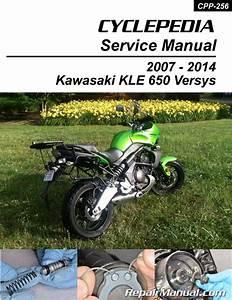 Kawasaki Kle650 Versys Cyclepedia Printed Motorcycle Service Manual