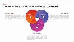 Creative Venn Diagram Powerpoint Template