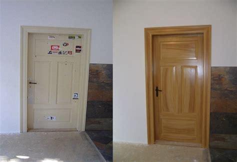 Tür Restaurieren Vorher Nachher by Holzmalerei Treppensanierung Fu 223 Bodensanierung