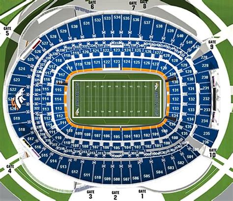 round table trinity parkway denver broncos seating chart with seat numbers