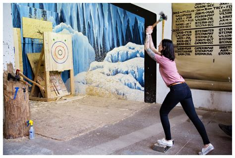 Backyard Axe Throwing Toronto by Axe Throwing Toronto